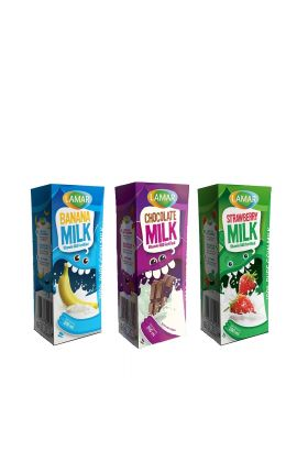 BUY LAMAR Flavored Milks in MIX